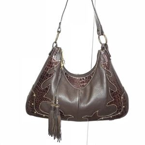 💟Essentials by ABS Fabulous Brown leather Bag